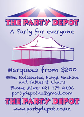 Party Depot advert